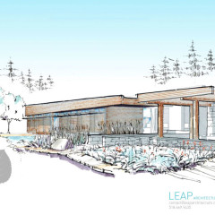 LEAP Sustainable Architect Designs Nature Center