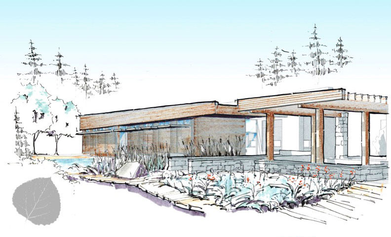 Bon LEAP Sustainable Architect Designs Nature Center