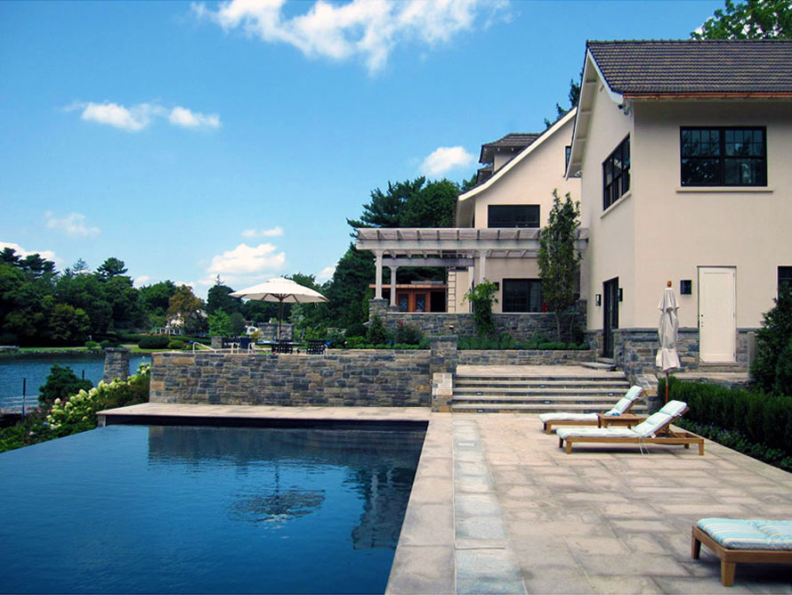Luxury Home Renovation On Long Island Sound Leap