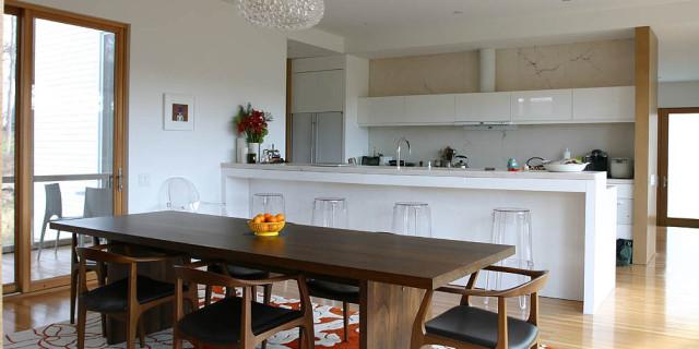 Saratoga Architect Designs Modern Sustainable Home - LEAP Architecture