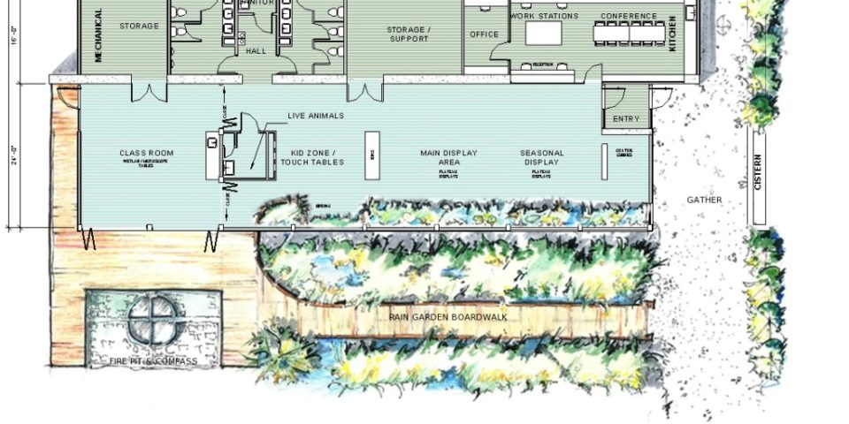 ... LEAP Sustainable Architect Designs Nature Center ...