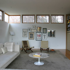 Modern Design of Saratoga Addition in Upstate, NY