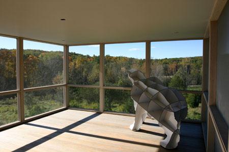 Modern Design of Saratoga Addition in Upstate, NY